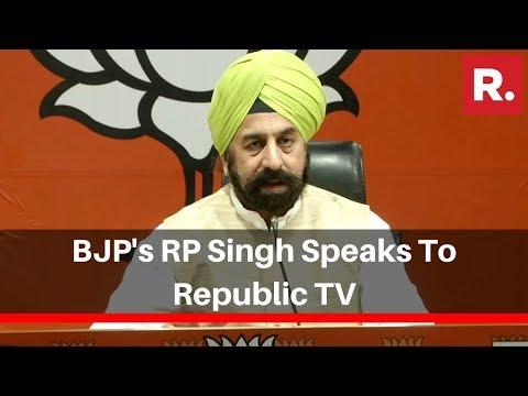 BJP's RP Singh Speaks To Republic TV Over MP Gautam Gambhir Skipping Pollution Meeting