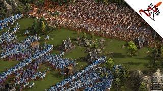 Cossacks - GLORIOUS WAR - INSANE BATTLES   Multiplayer Gameplay