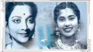 Geeta Dutt, Meena Kapoor : Maine baalam se : Film - Aadhi