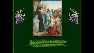 Вербное Воскресение. Вход Господень в Иерусалим.