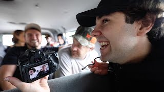 CAUGHT IT ALL ON CAMERA! BEHIND THE SCENES!!