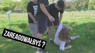 Zareagujesz na agresje nastolatków? - eksperyment społeczny