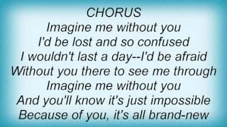 Luis Fonsi - Imagine Me Without You Lyrics