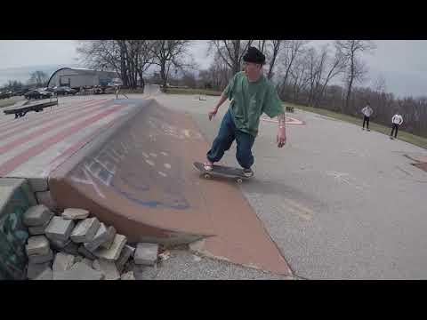 Concord NH Skate Park SHREDDING EPIC people