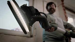 Festool Que se enciendan las luces. Paredes y techos perfectos: Lijadora de pared PLANEX LHS 2 225 anuncio