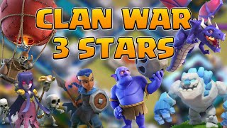 TH13 3 Star Clan War Strategies | Gwenn Ha Du! | Clash of Clans