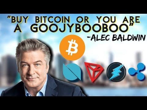 Bitcoin BULLISH! Alec Baldwin Trades On eToro | Electroneum | Tron Samsung | Ontology | Ripple Xrp