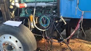 How to start a Series 60 Detroit Swap Mawk wiring 12.7 14L DDEC IV