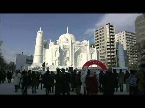 Sapporo Snow Festival Inauguration