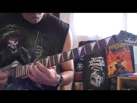 Manowar - Metal warriors (Guitar cover)