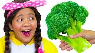 Yes Yes Vegetables Song - Nursery Rhymes Songs for Kids