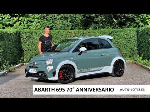 Abarth 695 70° Anniversario (180 PS): Review, Test, Fahrbericht