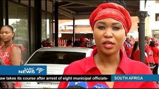 Kimberley residents march against femicide and woman abuse