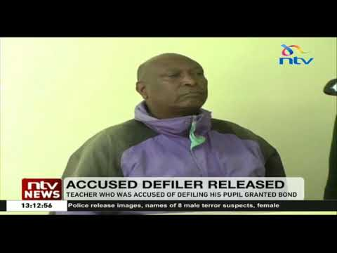 A teacher who was accused of defiling his pupil at Tembwa Primary School in Molo granted bond