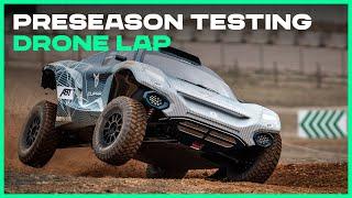 FPV Drone Lap | Preseason Testing | Extreme E