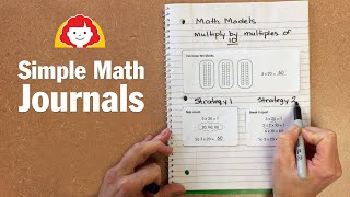 Simple Math Journals