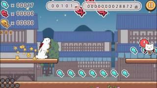 猫侍公式アプリ第2弾「玉之丞のおでかけ」プレイ動画