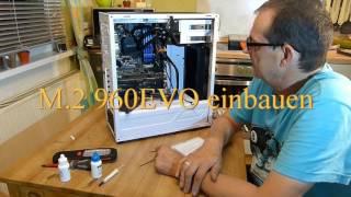Sharkoon M25W  mein Upgrade PC auf 2x SSD  1x mit M.2 SSD  Teil1