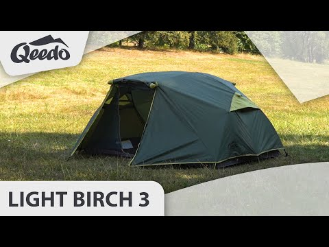 Qeedo Light Birch 3 leichtes Trekkingzelt