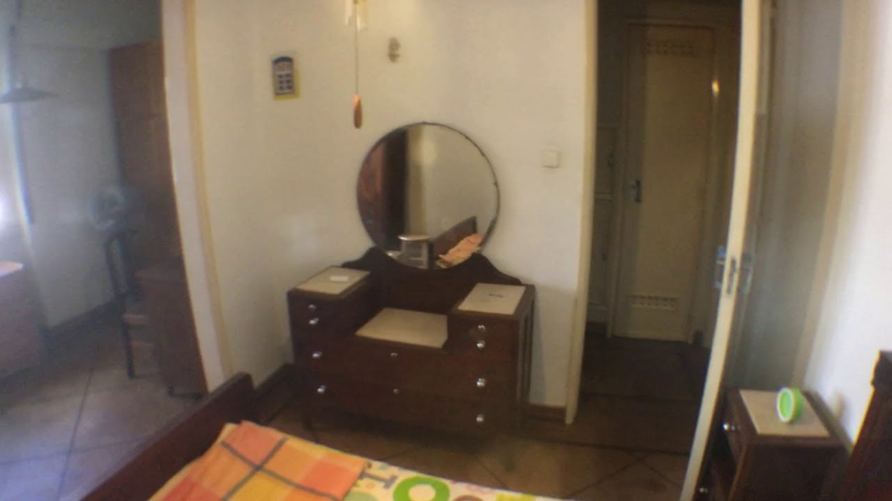 Double bed in Rooms for rent in furnished 3-bedroom apartment in Belém