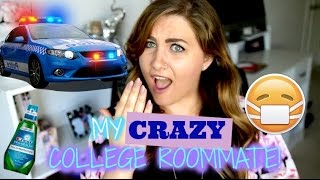 I GOT A RESTRAINING ORDER AGAINST MY CRAZY COLLEGE ROOMMATE! Storytime