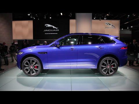 2017 Jaguar F-Pace - 2015 Frankfurt Motor Show