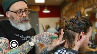 Master Barber Transforms a Traveler from New Zealand's Style