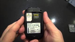 TP-Link M5350 - mobile wifi / mifi device.  Review, web interface and comments