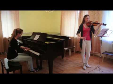 Сектор Газа Твой звонок на скрипке и пианино