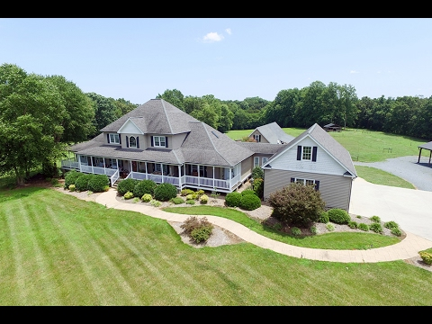 Seagrove North Carolina Farm And 4100+ SF Home For Sale.