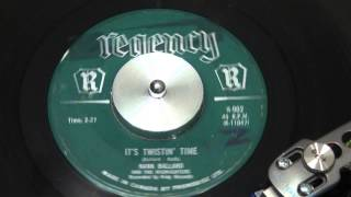 HANK BALLARD and the MIDNIGHTERS - It's Twistin' Time - 1962 - REGENCY