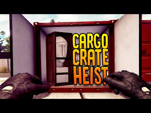 Stealing Expensive Items From Cargo Crates - Warehouse Heist - Thief Simulator Gameplay