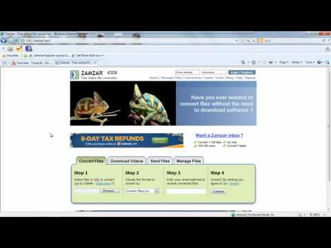 How to download free music and videos from youtube using zamzar how to download free music and videos from youtube using zamzar ccuart Images