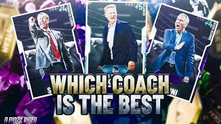 BEST COACHES TO USE IN NBA 2K20 MYTEAM! USING THIS COACH WILL LET YOU MAKE THREES! NBA 2K20