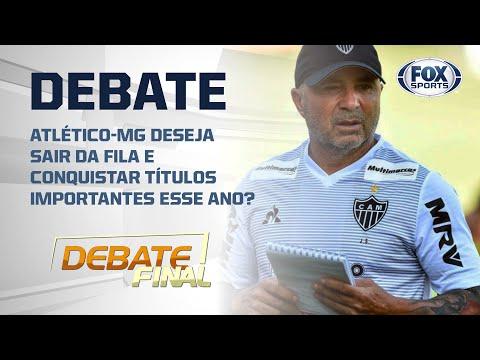 ATLÉTICO MINEIRO: SAMPAOLI MONTOU TIME PARA SER CAMPEÃO? Veja debate!