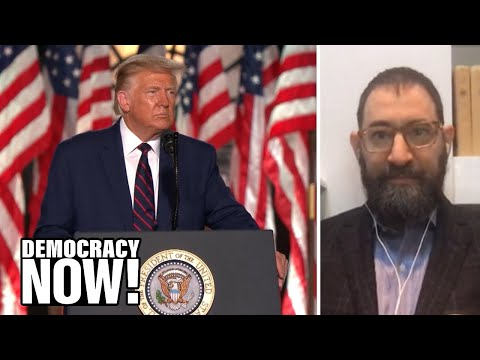 Historian Rick Perlstein on the RNC & Trump's Dangerous Propaganda Driving People to Violence