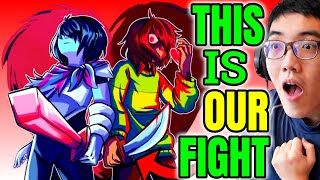 YOU CAN'T RUN AWAY.. Game Theory: This is NOT Your Story! | The Deltarune Undertale Connection 🆁🅴🅰🅲🆃
