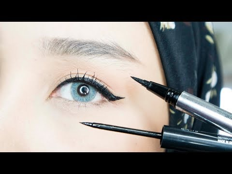EYELINER TUTORIAL LIKE A PRO | PEMULA / BEGINNERS | INDONESIA