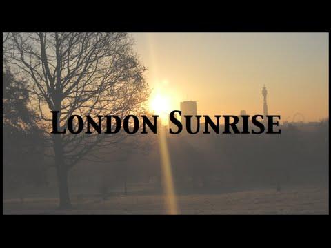 London Sunrise from Primrose Hill