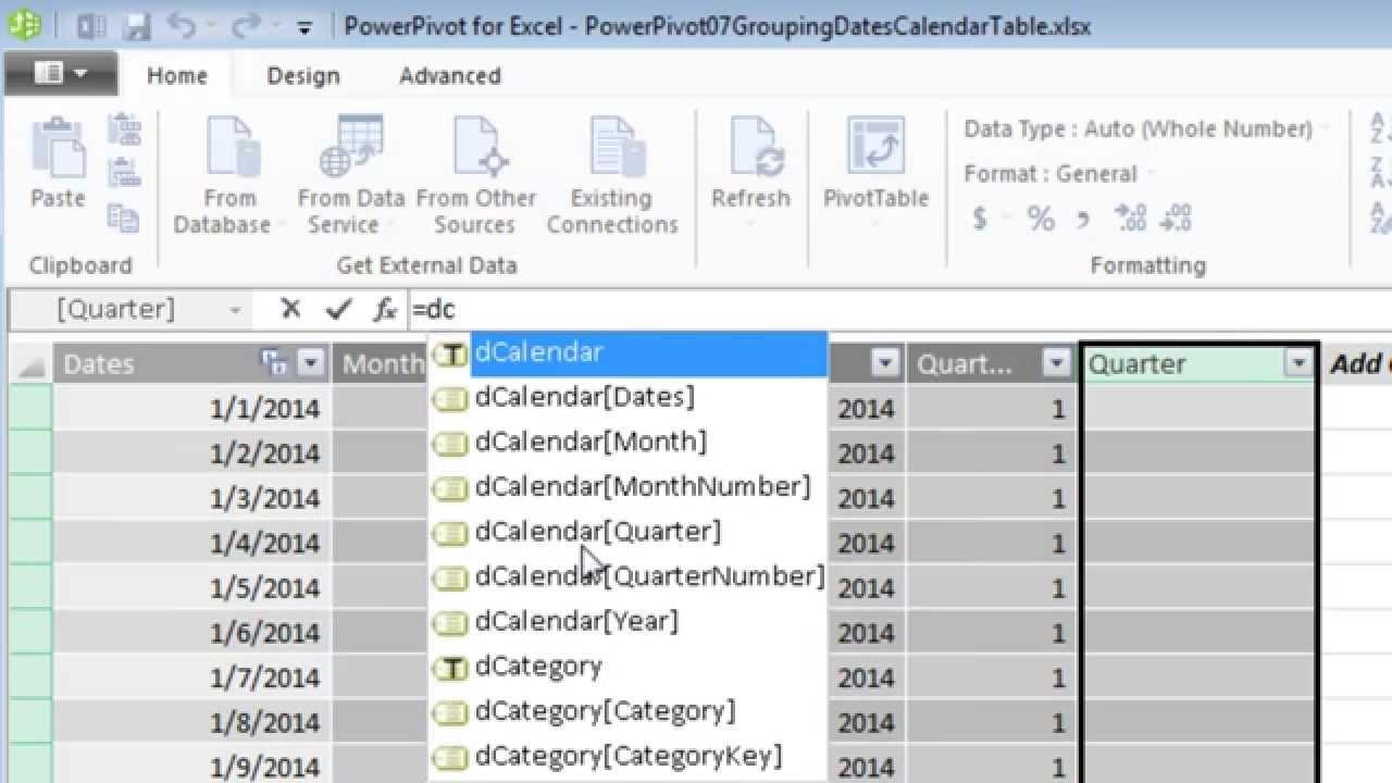 Excel Power BI (PowerPivot, Power Query and more) | Grroups