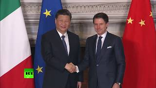 Italy becomes first G7 nation to sign up for China's Belt & Road Initiative