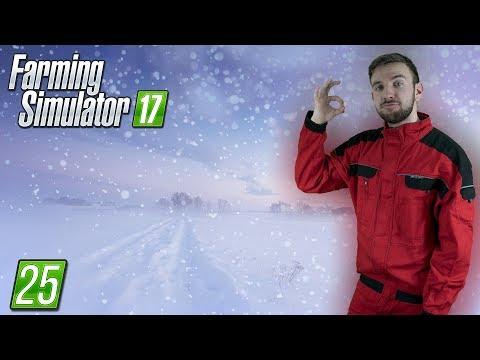 SNĚŽÍ! | Farming Simulator 17 #25