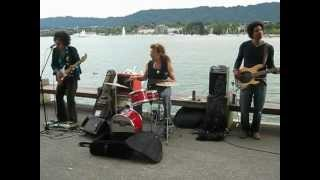 Awesome Jimi Hendrix cover band performing Stone Free in Zurich, Switzerland