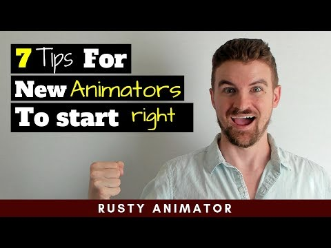 Animation For Beginners - 7 Tips to learn fast and start right