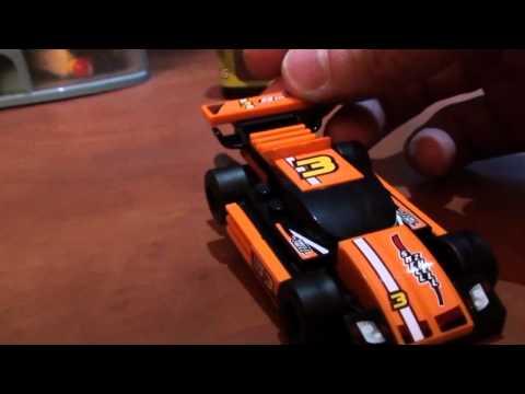 Vidéo LEGO Racers 8304 : Le super bolide