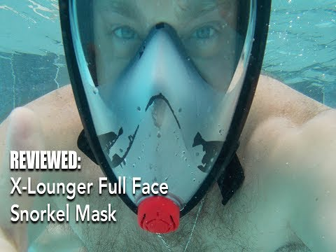 X-Lounger Full Face Snorkeling Mask Review