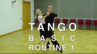 How to Dance Tango - Basic Routine 1