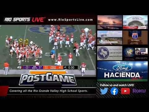 San Benito vs Laredo United Football Week 4 2019