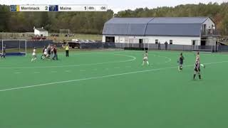 Final Seconds of Field Hockey's First Division I Win