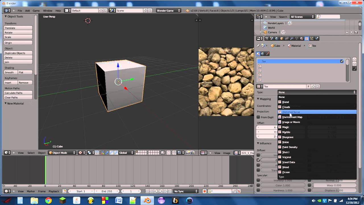 UV texturing for the blender game engine tutorial(HD)